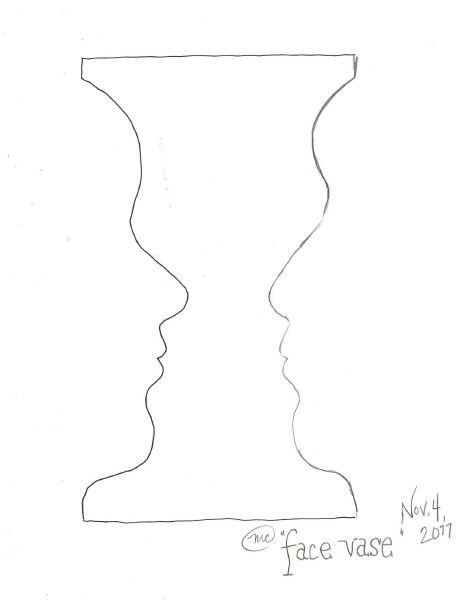 face_vase
